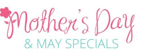 Mother's Day & May Special Logo